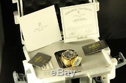 Invicta 14432 Réserve Men Ltd Ed Jason Taylor Chrono Ss Plaqué Or 18 Carats