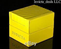 Invicta 46mm Spécialité Capsule Plaqué Or Suisse Chronographe En Or 18 Carats Avec Cadran