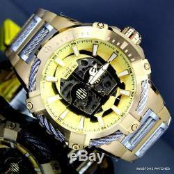 Invicta Star Wars C3po Bolt En Acier Plaqué Or Nh70 Automatique Ltd Ed Montre New