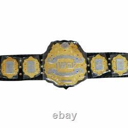 Iwgp Heavyweight Championship Title Belt Gold Plated Metal Plate Adulte Flambant Neuf