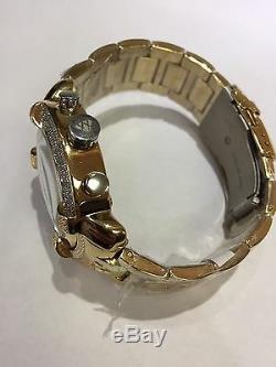 Jojo Jojino Joe Rodeo Joe - Bracelet En Métal Jaune Pour Homme - Montre À Diamants, L