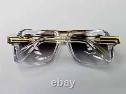 Les Légendes Cazales Mod. 664/3 Col. 003 Lunettes De Soleil Plaquées Or Cristal Fabriqué En Allemagne