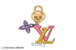 Louis Vuitton Plaqué Or Porte Cles LV New Wave Bag Chram M67808 Yh00233