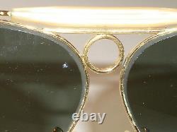 Lunettes De Soleil Aviator Vintage B&l Ray-ban G15 Uv Arista Des Années 1960