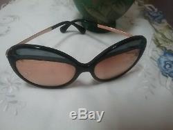 Lunettes De Soleil Chanel Cat Eye 5379 - Verres Plaqués Or Rose 501 / 4z