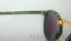 Lunettes De Soleil Krewe St. Louis Classics Gris Ivy 24k Plaqué Or 46-23-145