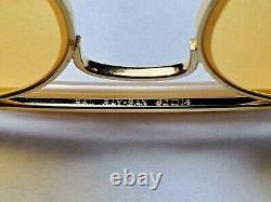 Lunettes De Soleil Vintage B&l Ray Ban Bausch & Lomb Outdoorsman Ambermatic 62mm Aveccase