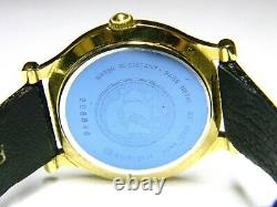Mens Old Seiko Age Of Discovery Date Gold Plated Montre Modèle 5y22-6059
