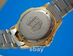 Mens Tag Heuer 4000 18k Or Plaqué 200m Professional Watch Creme Dial