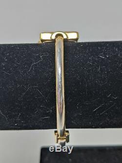 Mesdames Gucci 1900l Plaqué Or À Quartz Suisse Montre-bracelet