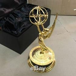 Métal Emmy Trophy Prix Règleurs En Alliage Emmy Trophy Prix 28cm Réel 11