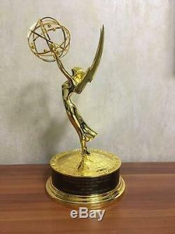 Métal Emmy Trophy Prix Règleurs En Alliage Emmy Trophy Prix 39cm Réel 11