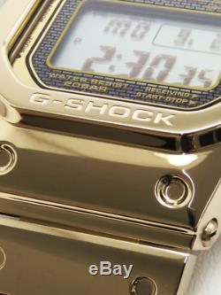 Montre Casio Gmw-b5000tfg-9jr G-shock 35 2018 Limitée Or Métal Plein Japan F / S