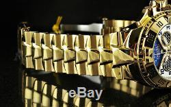 Montre Invicta Excursion Twisted Metal Chronographe Rétrograde À Cadran Cage Et 18kgp Ss