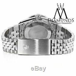 Montres Rolex Datejust Pour Femme, 31 MM De Diamètre, Plaqué Argent Et Jubilé D'acier