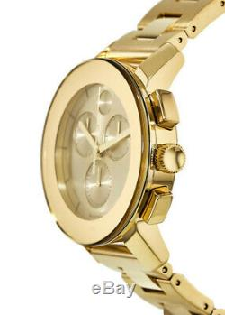 Movado Unisexe 3600358 Suisse Chronographe Bold Goldtone Ion-plaqué Bracelet