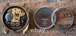 Nice Bulova Accutron Cal. 2182 Gold Plated Wrist Watch Running