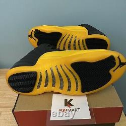 Nike Air Jordan Retro 12 University Gold 130690-070 Taille 10,5 Et 13