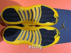 Nike Air Jordan Retro 12' University Gold' Taille Gs 5y-7y