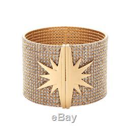 Nouveau Dans La Boîte Inde Hicks Star Brassard Bracelet Dore Crystal Bracelet Complet