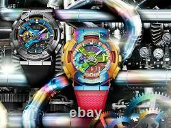 Nouveau G-shock Gm-110rb-2a Special Rainbow Ion Placage Acier Inoxydable Gm-110rb-2a