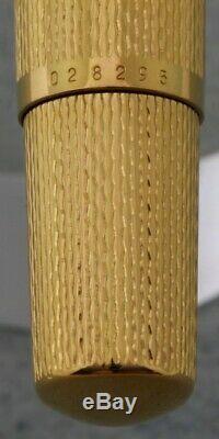Nouveau! Stylo Plume Pelikan M 760 Jubilee Plaqué Or F