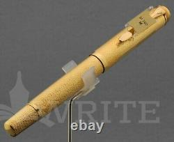 Nouveau! Stylo Plume Pelikan M760 Jubilé 1838-1988 Or Plaqué Nib M Boîte Cadeau