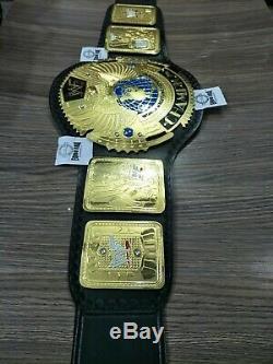 Nouvelle Ceinture Wwf Attitude Era Big Gold Championship Metal Plaques 4 MM Taille Adulte