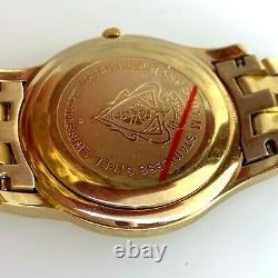 Or Gucci Montre Plaqué 5400m Watch Date 8inch Pour Les Hommes