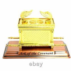 Or Plaqué Extra Large Ark Du Pacte Témoignage Juif Israel Judaica Cadeau