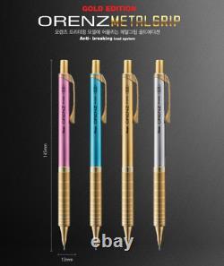 Pentel Orenz Metal Grip Gold Limited Edtion 4 Color Set (24k Gold Plaqué)