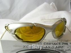 Rare Assiette Oakley, Platine, Iridium Or 24k / X Métal Romeo Mars Ott Juliet