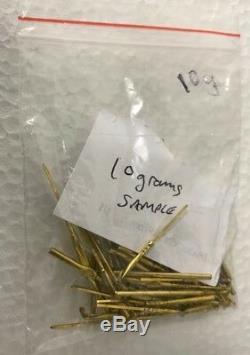 Scrap Computer Board Plaqué Or Doigt Pins 100 G Nickel Métal Précieux De Récupération