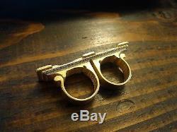 Sling Ring En Métal De Kaeciluis Réplique De Doctor Strange En Plaqué Or
