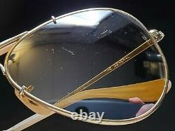 Vintage B & L Ray Ban Bausch & Lomb 58mm Rb50 The General W0363 Outdoorsman