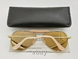 Vintage B&l Ray Ban Bausch & Lomb 58mm Rb50 The General Outdoorsman W0363 Withcase