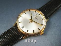 Vintage Eterna Matic 1000 14k Or Plaqué Automatique Mens Watch 17j