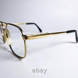 Vintage Extérieur Eyewear Homme. Verres Dorés Cadre 70s. Allemagne