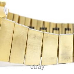Vintage Omega Souffe Day Date Cal 1022 Gold Plated Watch 166.239 Bf342659