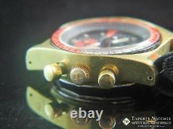 Vintage Serviced Tissot Pr 516 Chronographe Lemania 873 Plaqué Or Après 861 Ch27