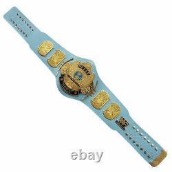 Wwe/wwf Classic Gold Winged Eagle Championship Belt Brass Metal Plaqué Adulte