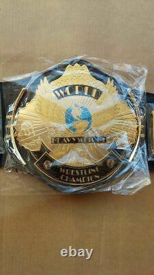 Wwe/wwf Classic Gold Winged Eagle Championship Belt Metal Plates Adulte
