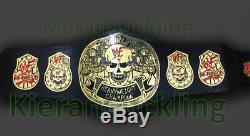 Wwf Stone Gold Smoking Skull Champion Ceinture Des Plaques De Métal Wwe Ceinture De Fumer