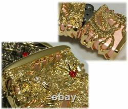 Zippo Lighter Dragon Full Metal Jacket Gold Plate Pink Gold Lighter Japan Nouveau